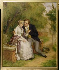 William Powell Frith - The Lover's Seat