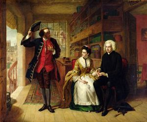 William Powell Frith - The Pulse, The Husband