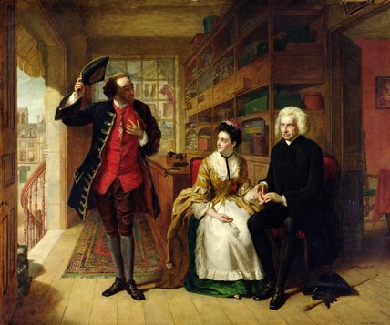 The Pulse, The Husband by William Powell Frith (1819-1909, United Kingdom)