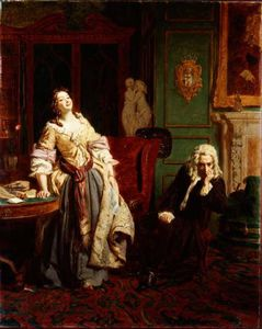 William Powell Frith - The Rejected Poet -