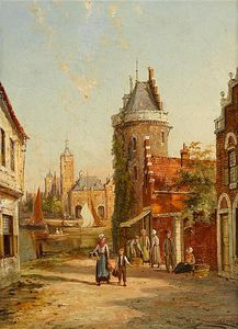 William Raymond Dommersen - Rue De Bac, Roven