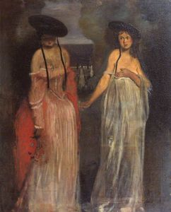 William Rothenstein - Two Women