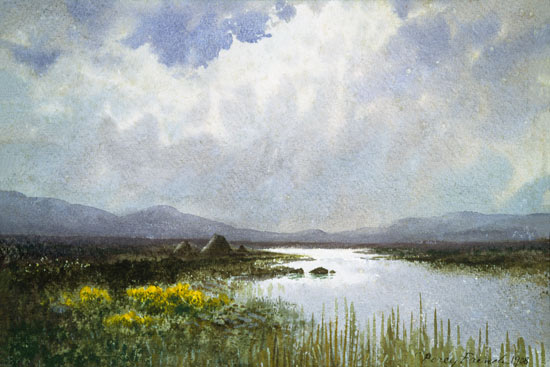 Connemara Landscape by William Samuel Horton (1865-1936, United States) | WahooArt.com