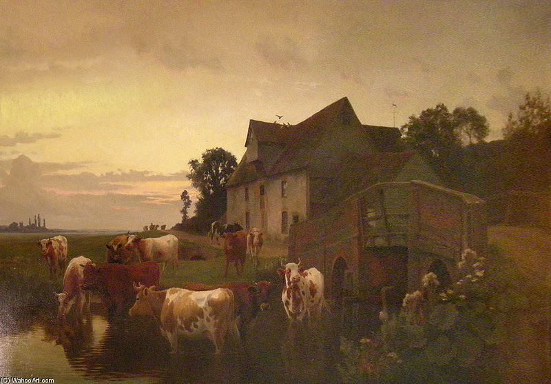 Herne Bay - by William Sidney Cooper (1854-1927) | Museum Quality Reproductions | WahooArt.com