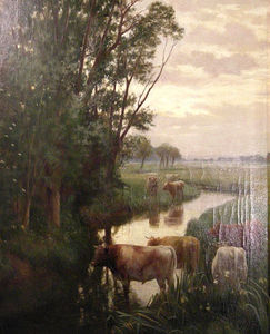 Order Paintings Reproductions | Herne Bay - by William Sidney Cooper (1854-1927) | WahooArt.com