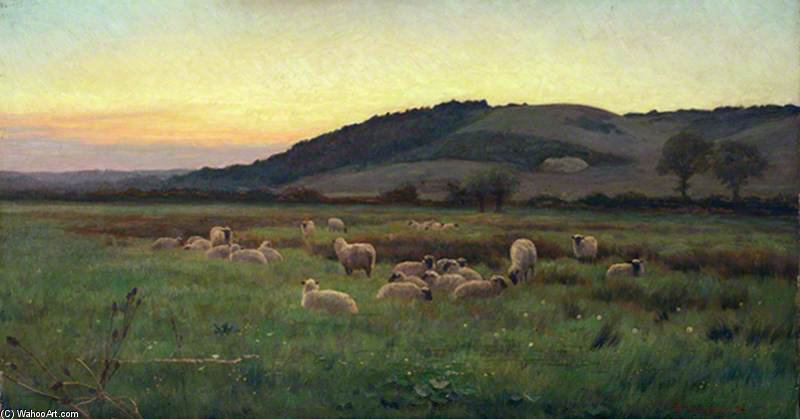 Whitchurch Hill, Oxfordshire by William Sidney Cooper (1854-1927)
