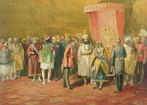 William Simpson - The First Investiture Of The Star Of India