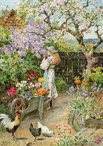 William Stephen Coleman - Spring Blossoms