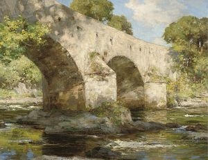 William Stewart Macgeorge - Bridge East Lothian