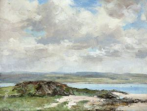 William Stewart Macgeorge - Coastal Scene
