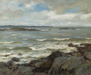 William Stewart Macgeorge - Wind In The Solway