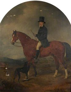 William Watson - Equestrian Portrait