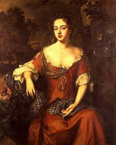 Willem Wissing - Portrait Of Lady Brownlow