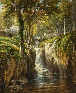 James Baker Pyne - Lower Cascade, Rydal Peak, Cumbria
