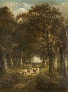 James Stark - Cattle In The Woods