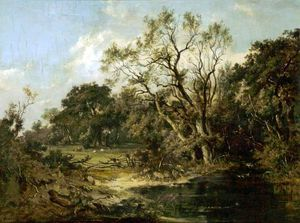 James Stark - Landscape And Trees