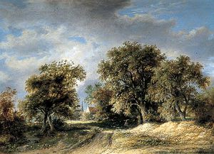 James Stark - Landscape With A Church