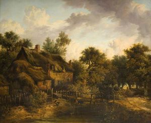 James Stark - Landscape With A Cottage