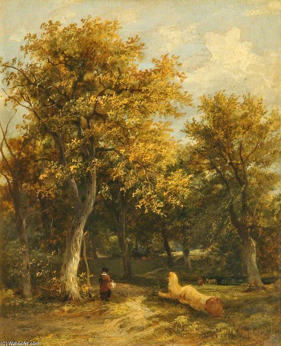 Order Museum Quality Copies | The Edge Of A Wood by James Stark (1794-1859, United Kingdom) | WahooArt.com