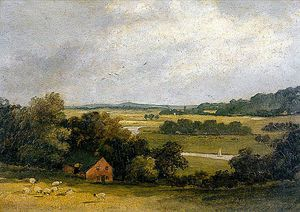 James Stark - Whitlingham From Old Thorpe Grove, Norfolk