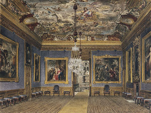 James Stephanoff - Windsor Castle, King's Drawing Room