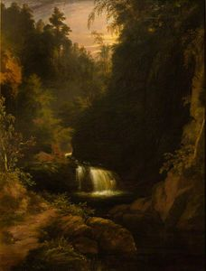 James William Giles - Waterfall