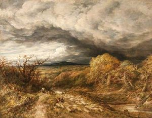 John Linnell - A Coming Storm