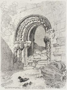 John Sell Cotman - Kirkham Priory, York