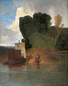 John Sell Cotman - On The River Yare