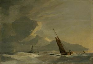 John Sell Cotman - Seascape