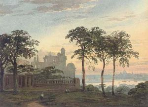 John Varley I (The Older) - London From Greenwich Observatory