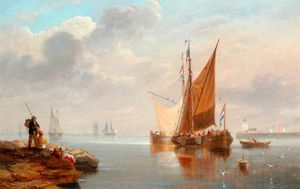 John Wilson Carmichael - Dutch Fishing Boats