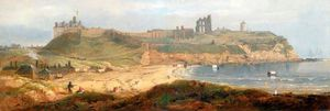 John Wilson Carmichael - Priory And Castle, Tynemouth