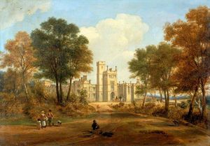 John Wilson Carmichael - The Entrance To Beaufront Castle