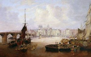 John Wilson Carmichael - The Mayor's Barge On The Tyne