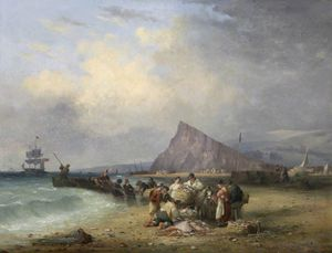 Nicholas Matthew Condy - Arrival Of Fishing Boats, Teignmouth