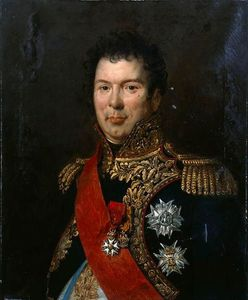 Paulin Jean Baptiste Guerin - Portrait Of Count Songis Courbons In Full Uniform General