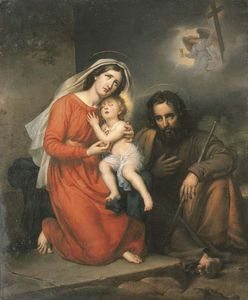 Paulin Jean Baptiste Guerin - The Holy Family -