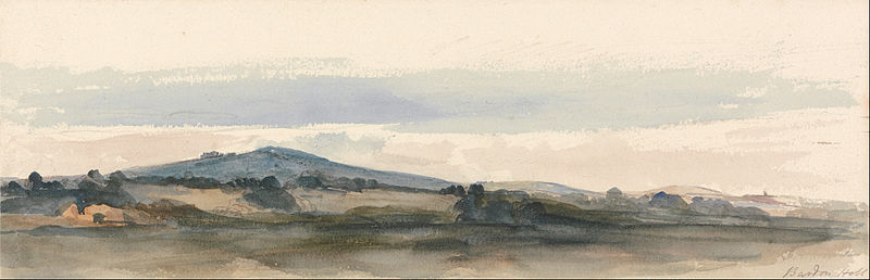 Bardon Hill, Charnwood Forest, Leicestershire by Peter De Wint (1784-1849, United Kingdom) | Museum Quality Copies Peter De Wint | WahooArt.com