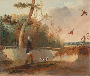 Samuel John Egbert Jones - Pheasant Shooting