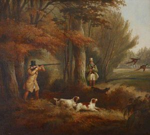 Samuel John Egbert Jones - Pheasant-shooting