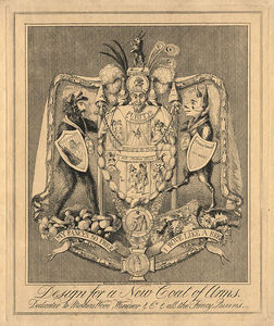 Theodore Lane - Design For A New Coat Of Arms