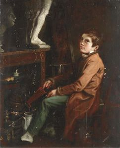 Theodore Lane - The Artist-s Assistant