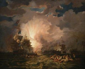 Thomas George Webster - The Battle Of The Nile