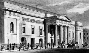 Thomas Hosmer Shepherd - Exterior Of The Theatre Royal