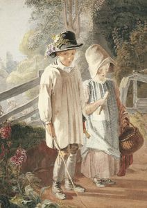 Thomas Uwins - Returning From School