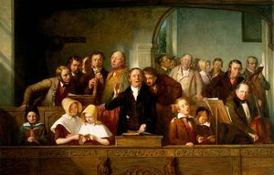 Thomas George Webster - A Village Choir