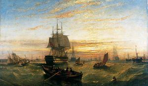 Adolphus Knell - Entering Portsmouth Harbour