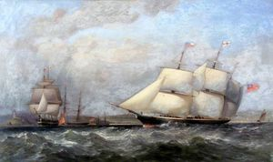 Adolphus Knell - Shipping Off Oystermouth