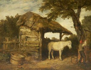 William Collins - Rustic Shed